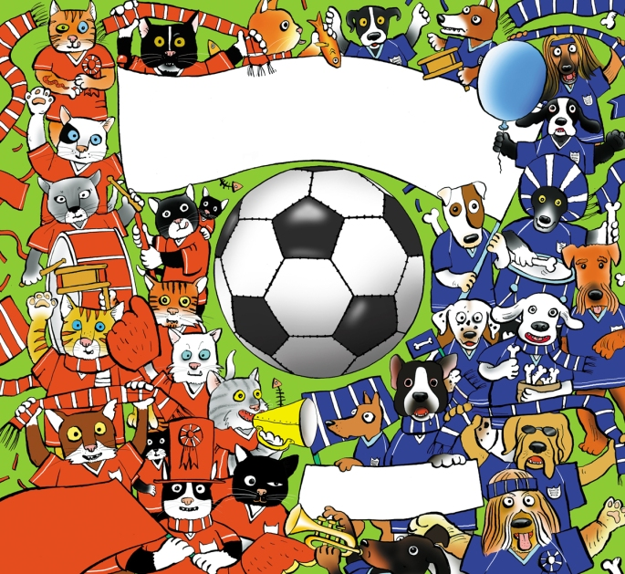 B3 The Big Match  front cover
