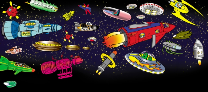 Space Voyagers Sp 04 spacecraft