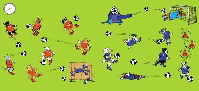The Big Match Sp 04 skills
