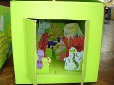 Putney Park School - 3D illustration in a box