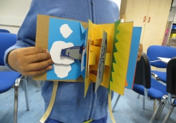 Word Festival Islington - family workshop at Islington Museum, design your own pop-up books