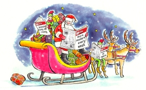 Christmas card - Sunday Mirror