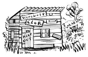 Werewolf Club Rules - Frances Lincoln