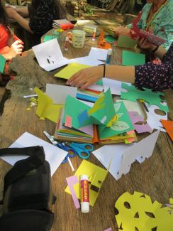 HIgh Sun Camp at Ashley Wood, Cambridgeshire - I do workshops for adults too!
